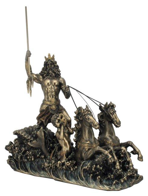 Grieken en Romeinen op bestelling Посейдон Скульптура